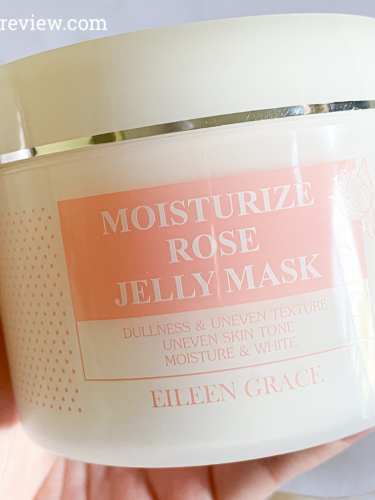 Review: Eileen Grace Moisturize Rose Jelly Mask